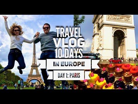 TRAVEL VLOG: 10 Days in Europe - Day 1 - Paris
