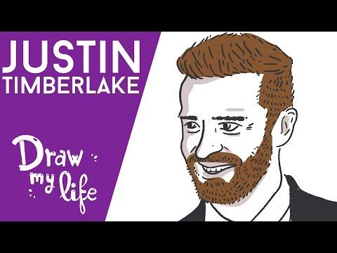 Justin Timberlake - Draw My Life (Español)