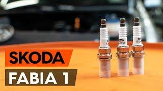 Comment remplacer un bougie d'allumage sur SKODA FABIA 1 (6Y5) [TUTORIEL AUTODOC]