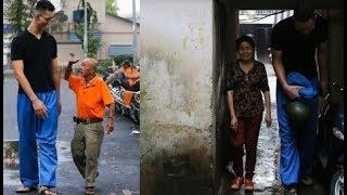 'Chàng khổng lồ' cao 2,2m, nặng 120kg ở Sài Gòn