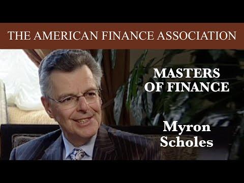 Masters of Finance: Myron Scholes
