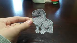 My Drawing of Little Big Planet 3 Paper Cutouts