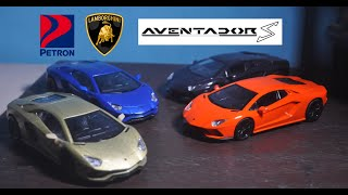 Petron Lamborghini Aventador S Complete Toy Car Collection Review