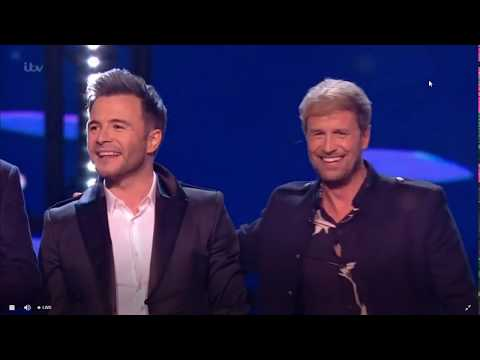 Hello My Love- Westlife (Live At The NTA's)