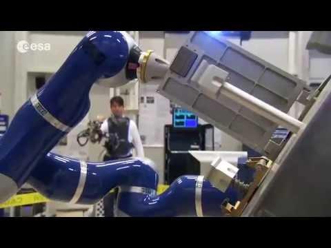 ESA Telerobotics & Haptics Lab. Trailer