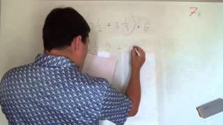 Алгебра 7 класс. 1 сентября. Числовые и алгебраические выражение #1