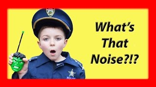 What's that noise?!? Brother Kid Cops React To Noise in Basement reaction to sketchy mechanic comedy
