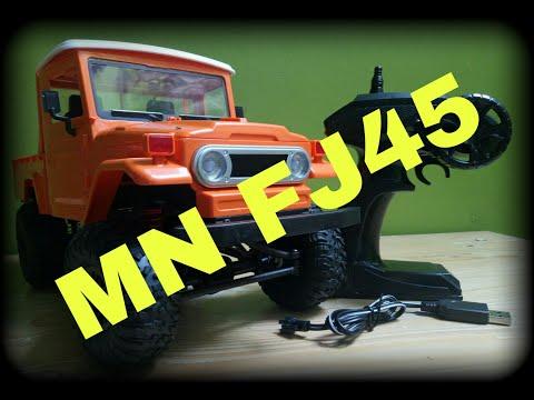 Unboxing Mn FJ45 mini adventure skala 1:12