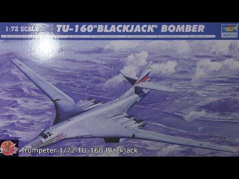 Trumpeter 1/72 TU-160 Blackjack Review