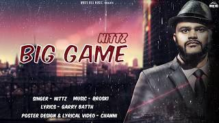 Big Game (Motion Poster) Nittz | Rel. on 27th Sep | White Hill Music