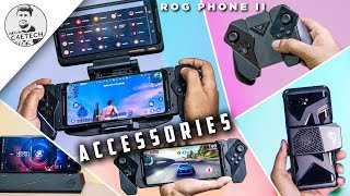 Asus ROG Phone 2 All Accessories Review - This is NEXT Level Mobile Gaming! (English)