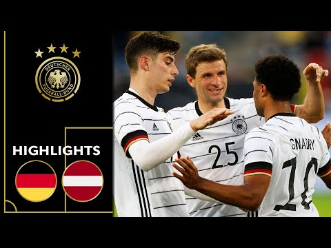 Havertz, Müller, Gnabry & Co. score 7 goals! Germany vs. Latvia 7-1 | Highlights | Friendly