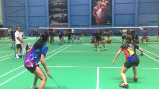 SBL Open 2017 Women's Double B Finals 2nd Set