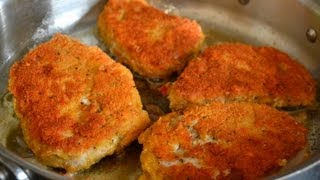 Parmesan Crusted Pork Chops Recipe