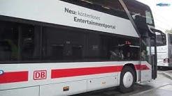 Vorgestellt: Unterhaltungsprogramm im IC Bus Nürnberg-München - Zürich