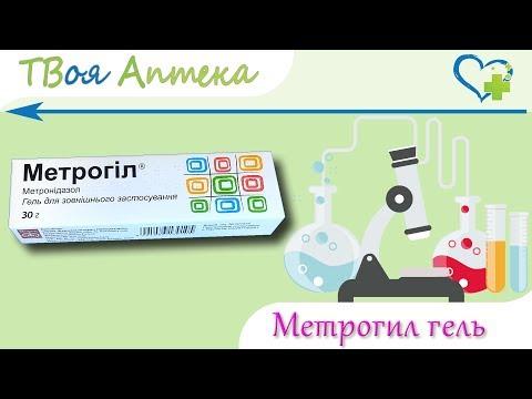 Метрогил гель - показания (видео инструкция) описание, отзывы - Метронидазол