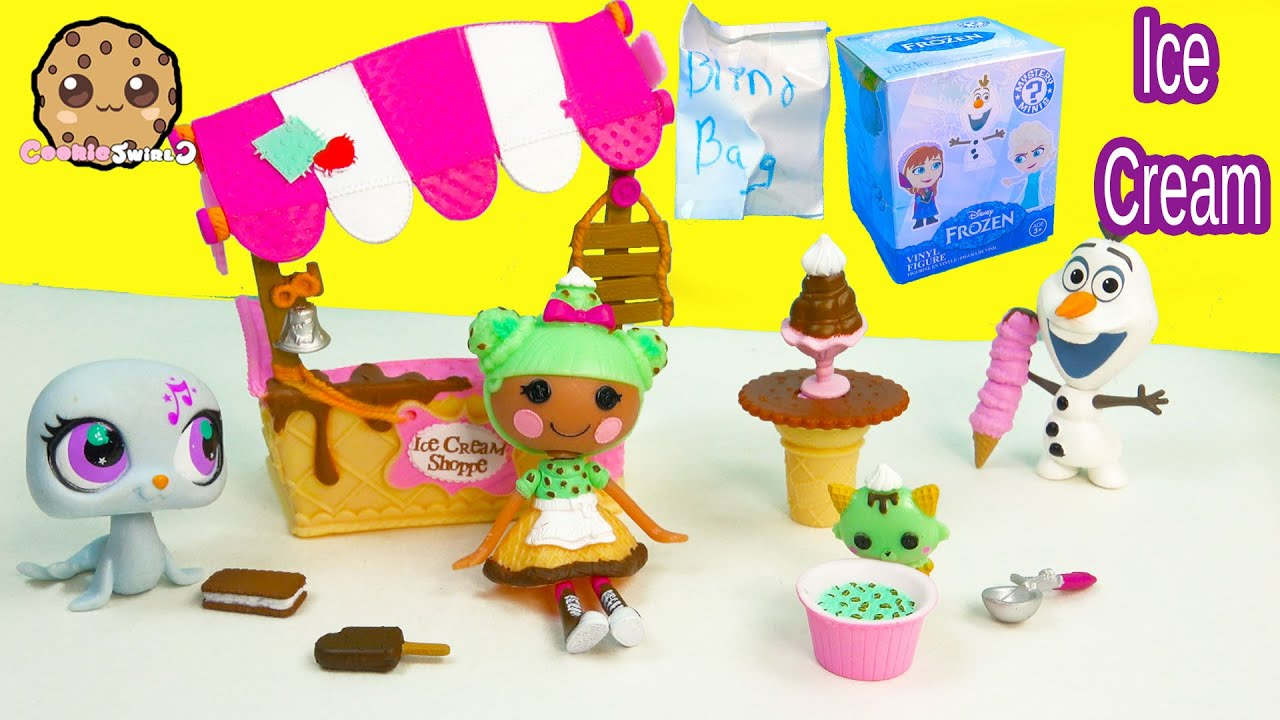 Lalaloopsy Scoops Serves Ice Cream Doll Playset + Disney ...