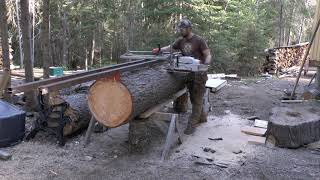 Logs to Lumber: Alaskan Chainsaw Milling