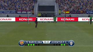 Fc barcelona vs juventus f.c. - penalty ...