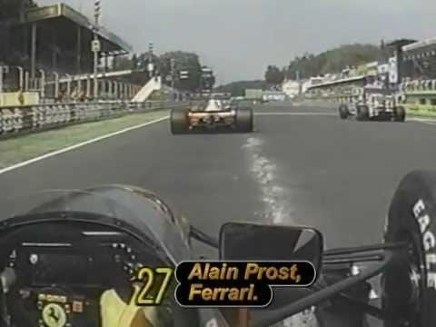 Alain Prost - 1991 Italian Grand Prix onboard race start