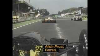 Alain Prost - 1991 Italian Grand Prix onboard race start