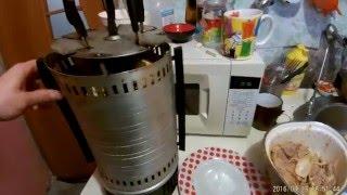 как приготовить шашлык в домашних условиях (на электро шашлычнице)
