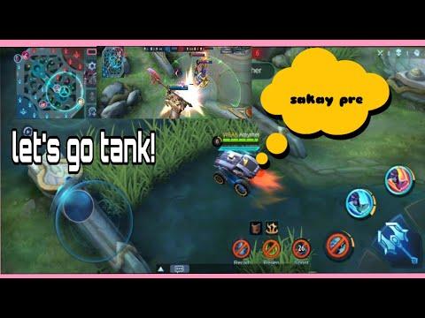 How to drive a tank hero like this  Game  Ang saya  Maki  