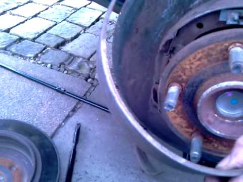 Jeep Grand Cherokee Broken Rear Parking Brake