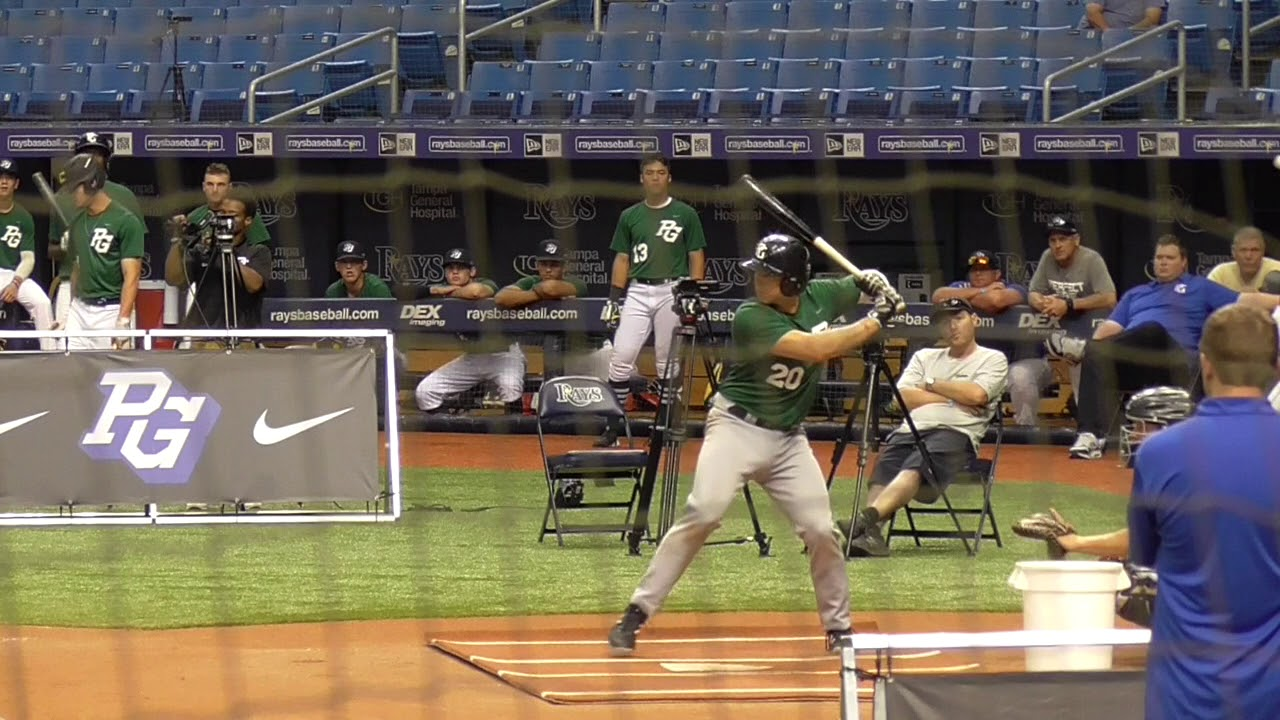 Henry Gargus (6-15-2018) at the Perfect Game National Showcase (Tampa, FL)