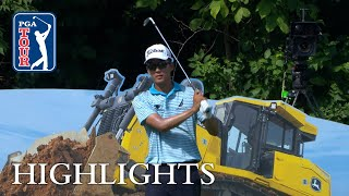 Michael Kim's highlights | Round 4 | John Deere 2018