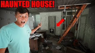 Found HAUNTED HOUSE While FISHING (Scary Photos Found!)