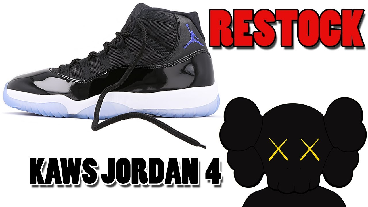 0158214e8 Air Jordan 11 SPACE JAM RESTOCK