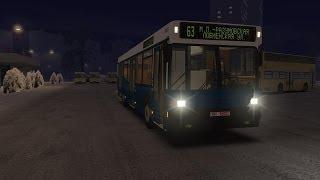 OMSI Автобус МАЗ 104 025 карта Москва 63 маршрут(Ссылки MAZ-104 v1.0 : https://disk.yandex.ru/public/?hash=ITolQyCHTH2QS17nN/JduthvRmsiz8tiBdmZhWx/RbE%3D Патч для OMSI 1.00-1.01 ..., 2014-01-18T17:32:56.000Z)