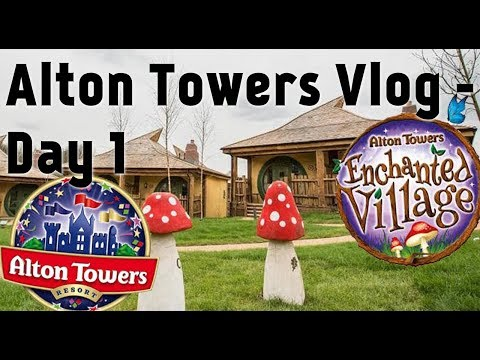 Alton Towers Day 1 - Enchanted Village Room Tour