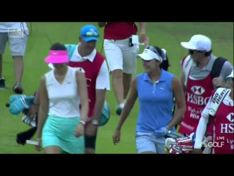 HSBC Women's Champions - Lexi Thompson Hole-In-One