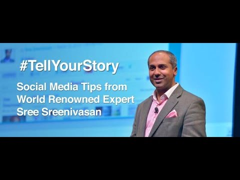Sree Social Media Class #tellyourstory