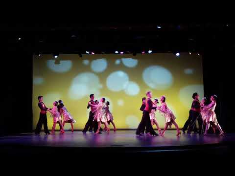"""""""The Gatsby"""" by Orange County School of the Arts Latin Formation Team"""