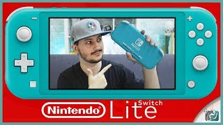نينتندو سويتش لايت Nintendo Switch Lite | فتح صندوق ومعاينة جهاز الألعاب الجديد 199$