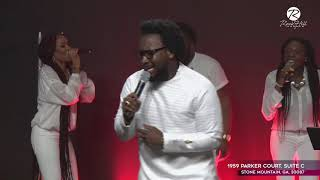 Gambar cover Dr.Sonnie Badu Intimate Worship on Easter Sunday At RockHill Church(Destiny Arena).