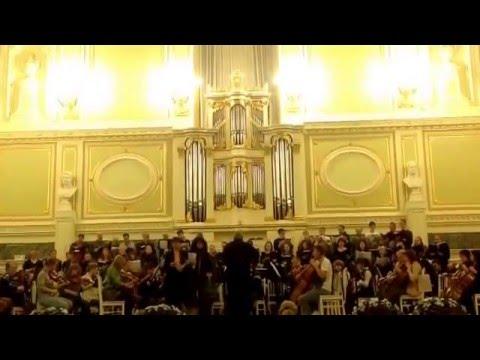 "12.12.2015 Opera Choir St.Petersburg Conservatory (rehearsal), Glinka ""Ruslan and Ludmila"""