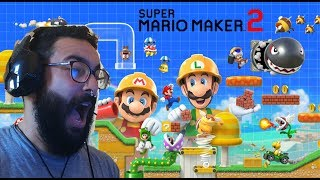 Vídeo Super Mario Maker 2