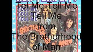 Brotherhood of Man - Tel Me Tell Me Tell Me