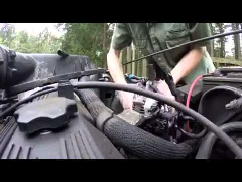 replacing alternator on 1992 jeep yj 4 cylinder youtube rh youtube com
