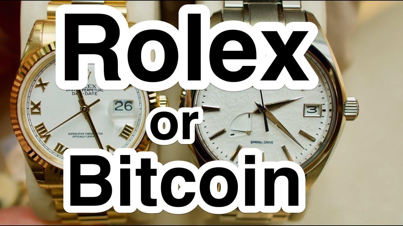 4869f3e76b0 Rolex or Bitcoin in 4k UHD - YouTube