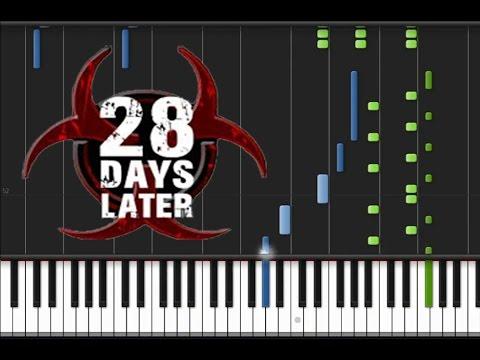 28 Days Later - Main Theme [Piano Tutorial] (♫)