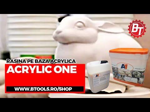 AcrylicOne  - Turnare Iepuras in matrita flexibila de silicon
