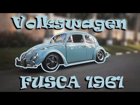 VOLKSWAGEN FUSCA 1961 - CAL STYLE!