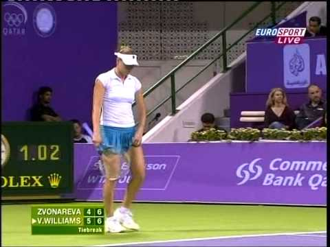 Classic Tiebreak series: Vera Zvonareva v Venus Williams