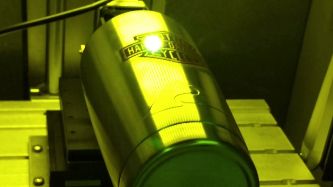 d1958ffd364 Laser engraving YETI cups with Z Tech's lasers - YouTube
