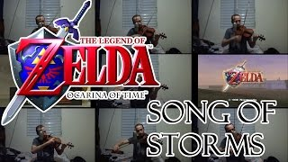Zelda: Ocarina of Time - Song of Storms violin cover